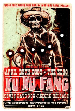 Xu Xu Fang-The Echo-Record Release