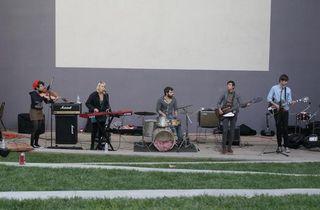 Big Whup playing at UC Irvine