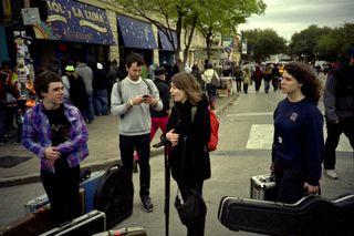 Avi Buffalo at SXSW (photo by Benjamin Hoste)