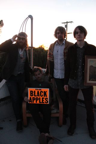 The Black Apples, photo courtesy the Black Apples