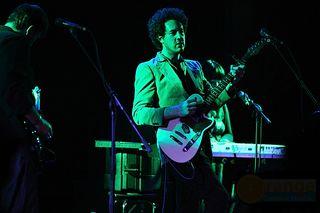 Jordan playing live (photo by Orange Creative Studio)
