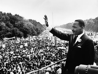 MLK may not get there with you, but he has been to the mountain top and he has seen the promised land.