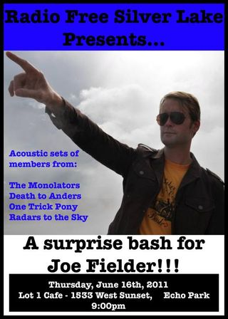 Joe Fielder leading the charge for good music in Silver Lake