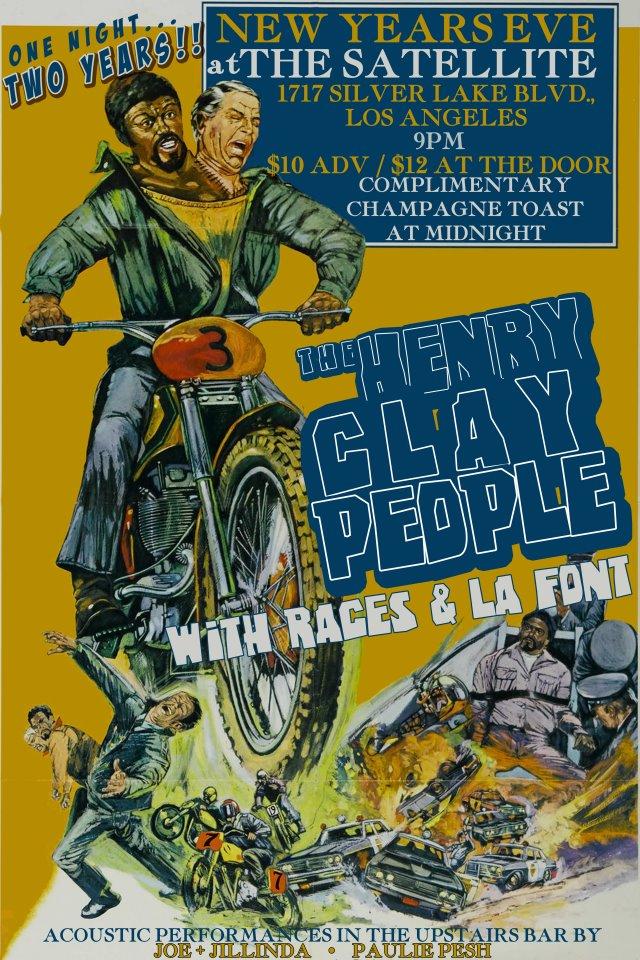 Henry Clay People LA Font Races