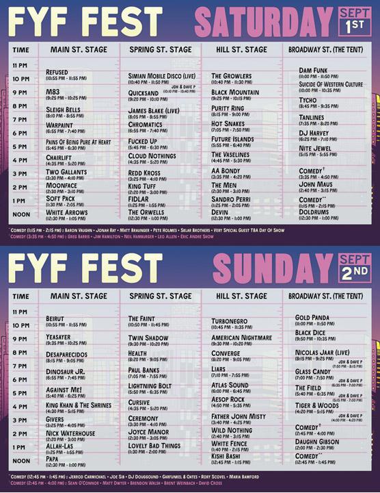 FYF2012