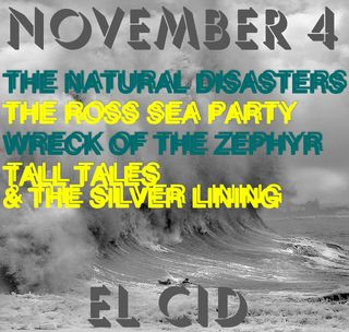 El cid nov 4 flyer