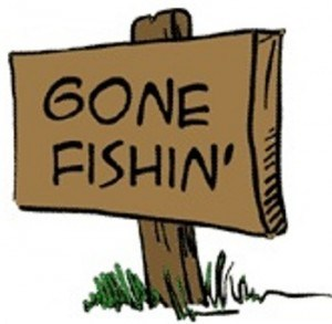 Gone-fishin